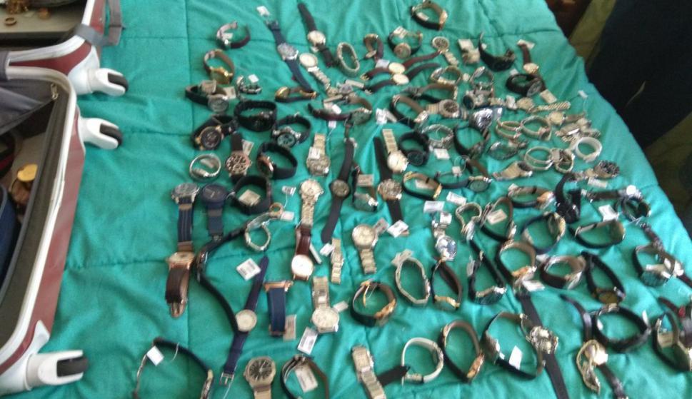 Encontraron las joyas que habían sido robadas. Foto: Twitter @MI_UNICOM