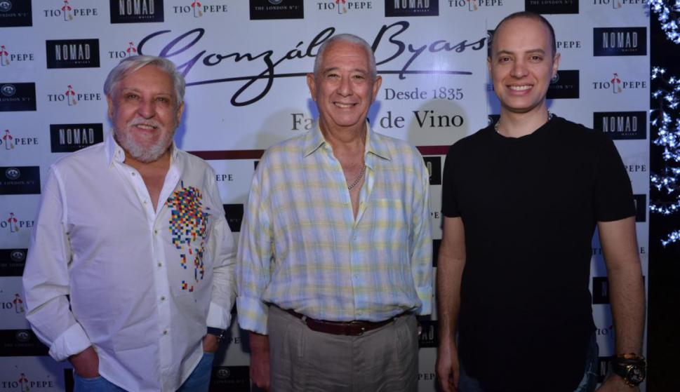 Nelson Mancebo, Sergio Puglia, Horacio Correa.
