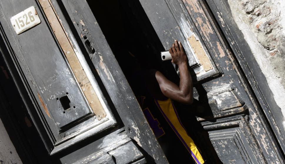 Vigilancia: una condición que los ocupas deben cumplir para no ser desalojados es nunca dejar la casa sola. Foto: M. Bonjour