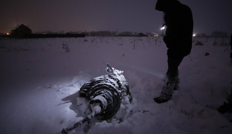Resultado de imagen para Se estrelló avión de línea ruso cerca de Moscú: 71 muertos