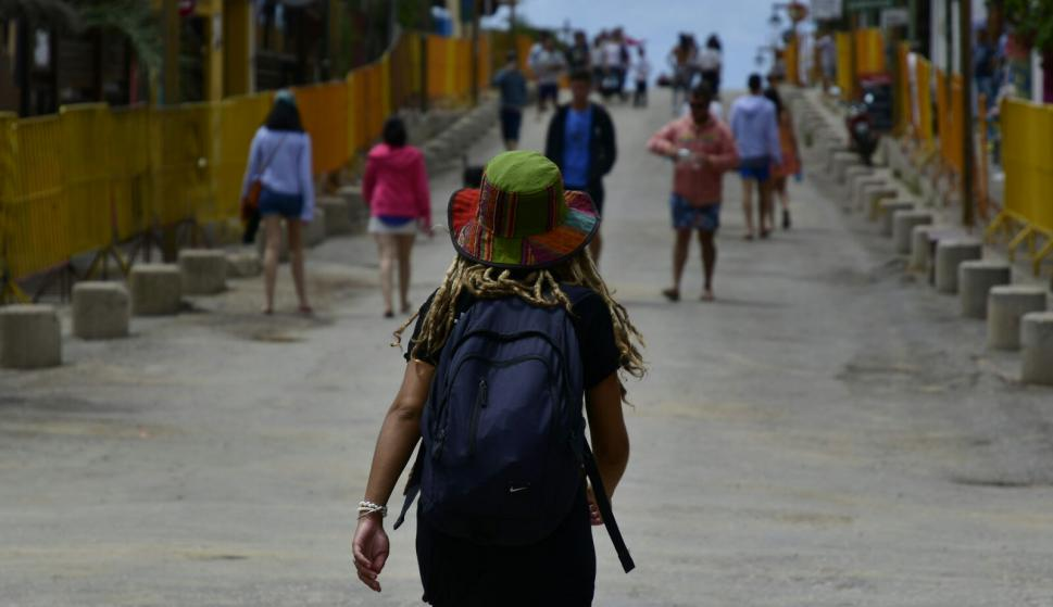 La Pedrera se prepara para la fiesta de Carnaval. Foto: Fernando Ponzetto