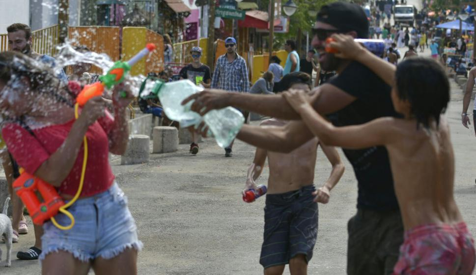 Carnaval de la Pedrera. Foto: Fernando Ponzetto