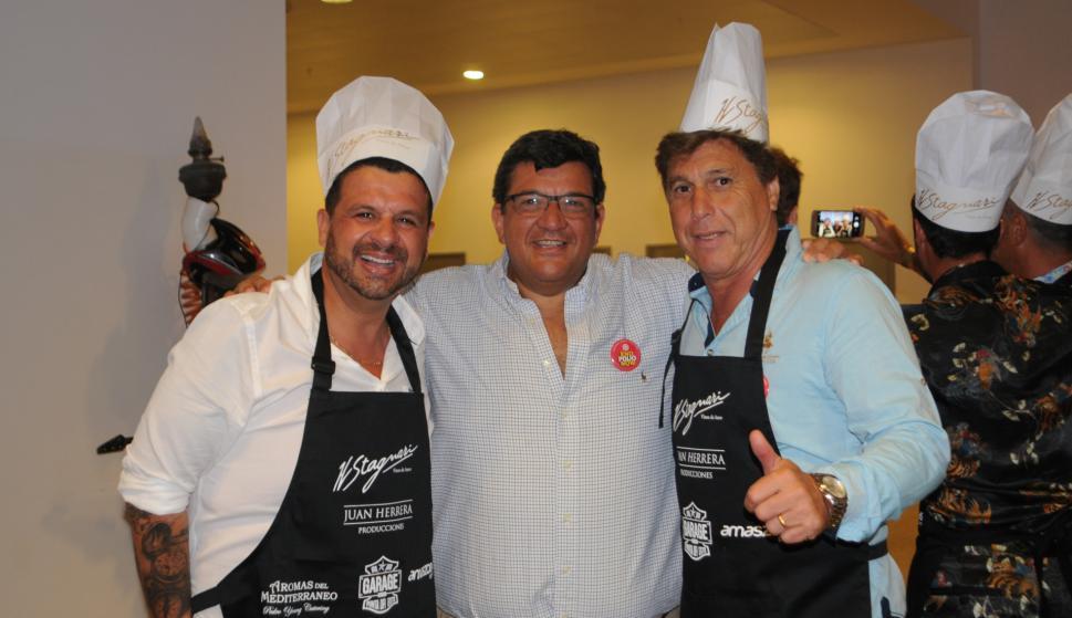 Diego Durand, Jorge Barrera, Juan Ramón Carrasco.