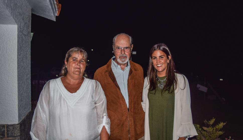 Carolina Olaso, Juan Martín Posadas, Valentina Preve.