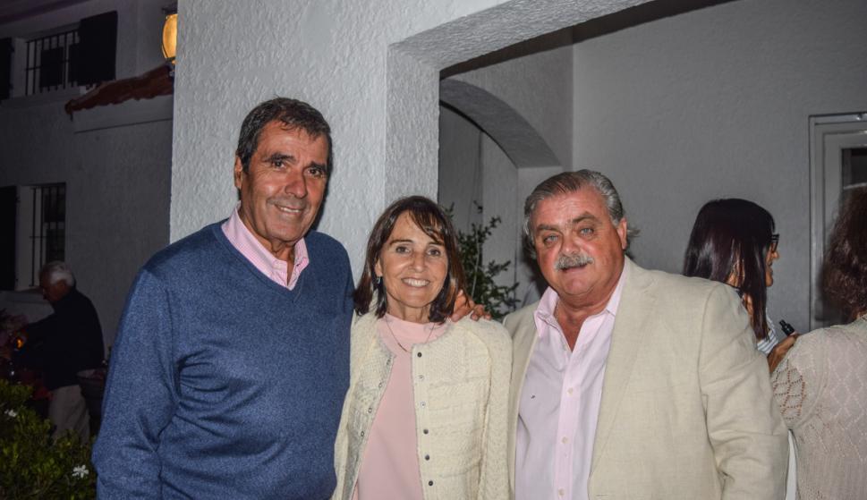 Fernando Jiménez De Arechaga, Pilar Rodríguez, Julio Preve.
