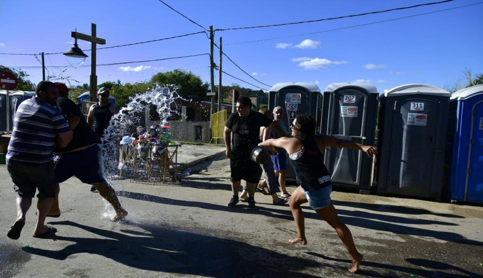 Carnaval en La Pedrera. Foto: Fernando Ponzetto