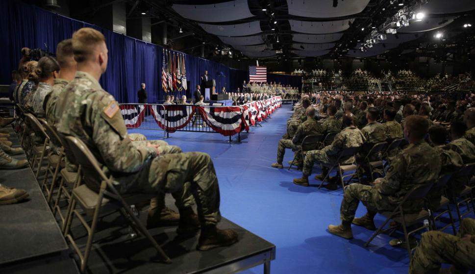 EE.UU. gasta más que las siete potencias juntas. Foto: Reuters