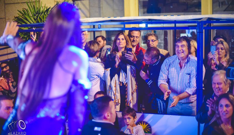 Moria Casán en Melo. Foto: Lázaro Antúnez