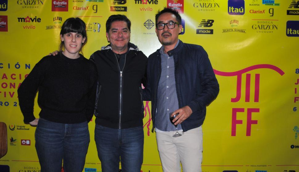 Amaia Serrulla, Sandro Fiorin, Mauricio Kinoshita.