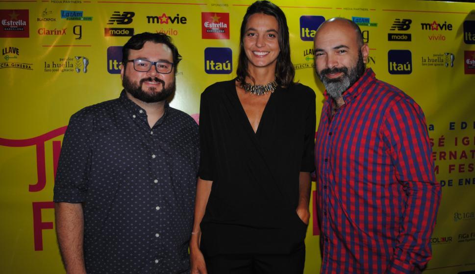 Daff Schneydher, Guillermina Banfi, Federico Moreira.