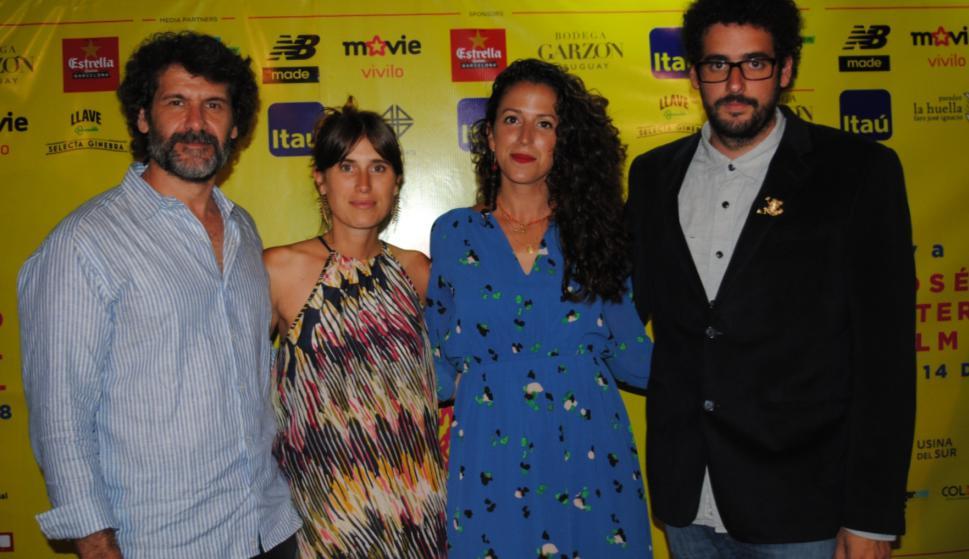 Pablo Mazzola, Fiona Pittaluga, Mariana Rubio, Martín Cuinat.