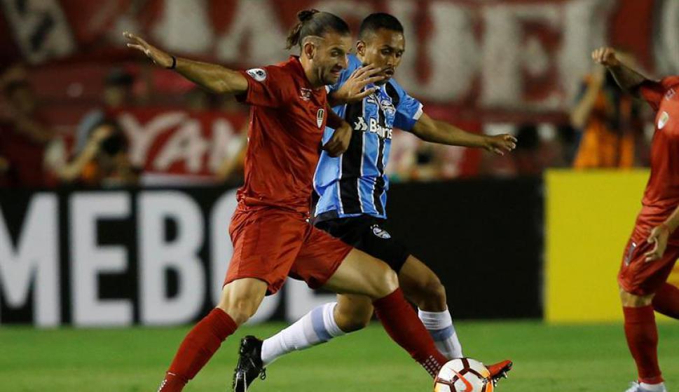 Independiente vs Gremio por la Recopa. Foto: EFE