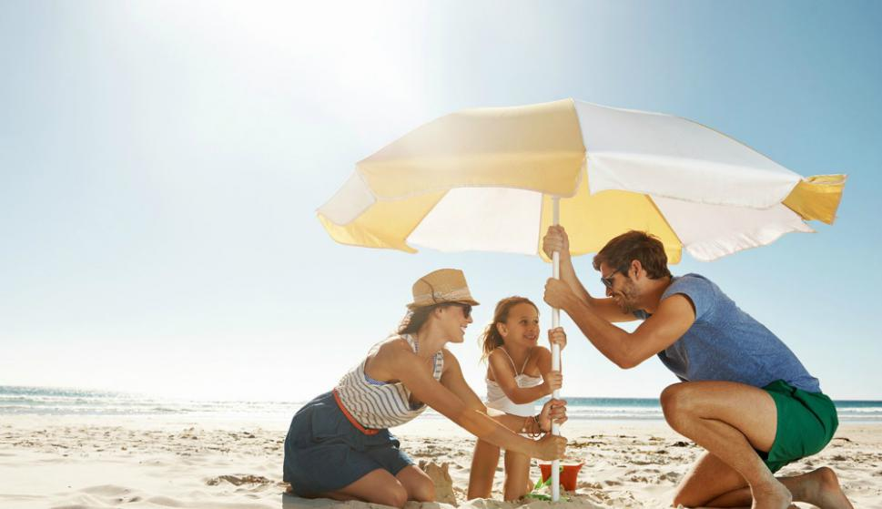 Los daños del sol en los niños son a largo plazo
