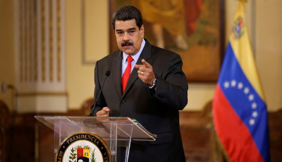 """Maduro: """"¿Me tienen miedo?, por aire, mar y tierra llegaré a la Cumbre de las Américas"""", dijo ayer. Foto: Reuters"""