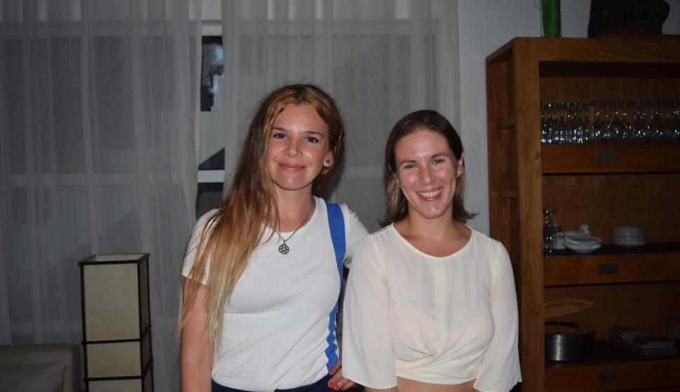 Micaela Teliz, Cecilia Casañas.