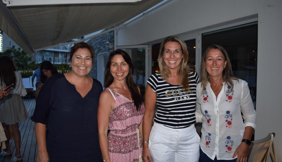 Valeria Tamon, Marcela Roman, Daniela Darino, Verónica Rimolli.