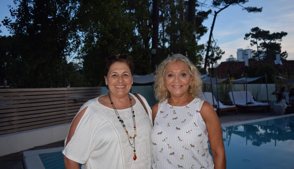 Nora Piñon, Betty Catalá.