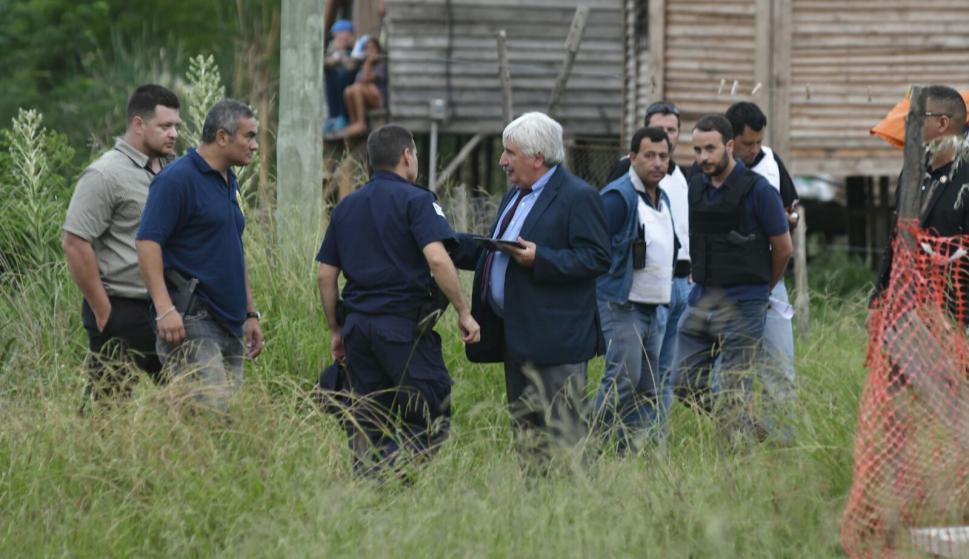 """El """"Kiki"""" se pegó un tiro en la cabeza al verse rodeado por la Policía. Foto: Fernando Ponzetto"""
