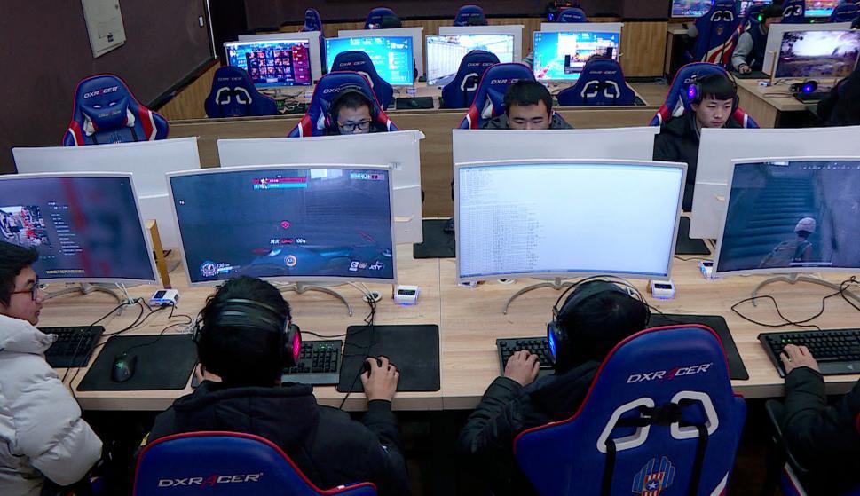 Videojuegos como asignatura escolar en China. Foto: AFP
