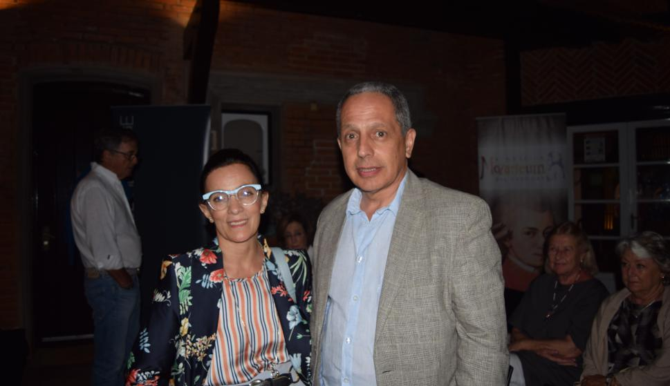 Mónica Vieitez, Carlos Rocca.
