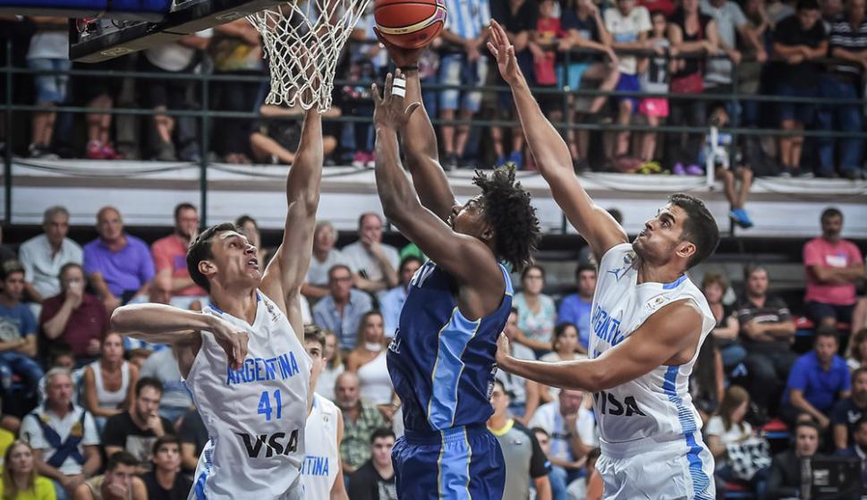 Uruguay vs. Argentina. Foto: FIBA