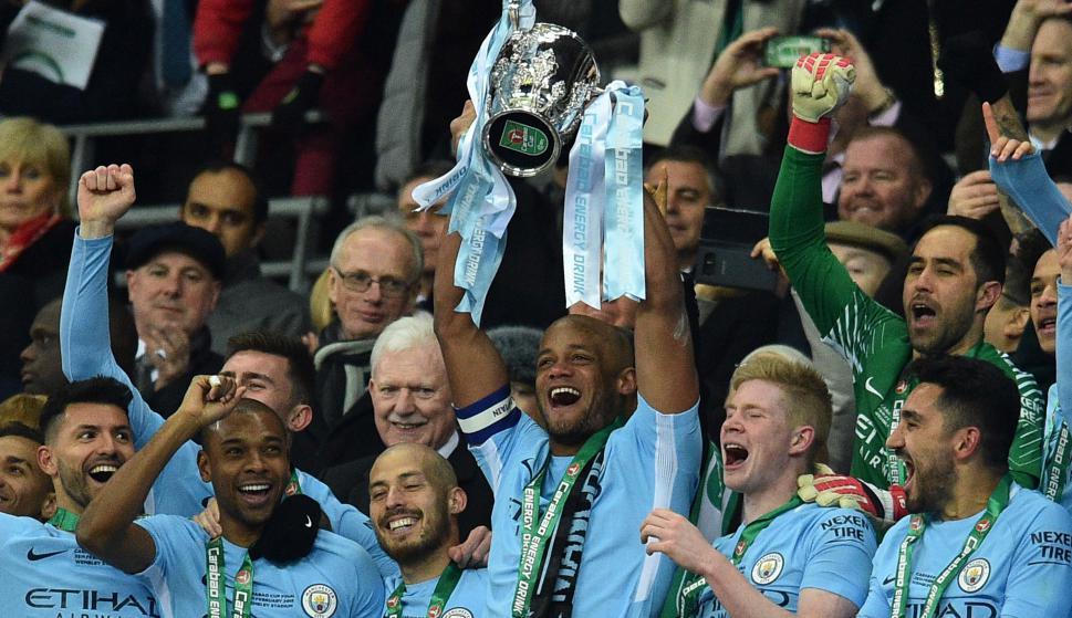 Manchester City. Foto: AFP.