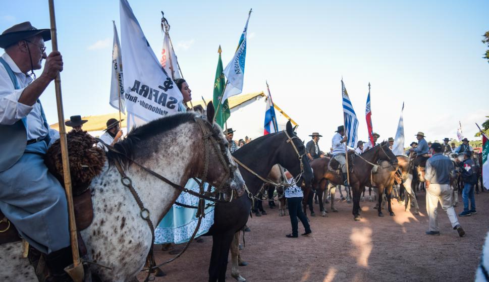 Lanzamiento de la Patria Gaucha.