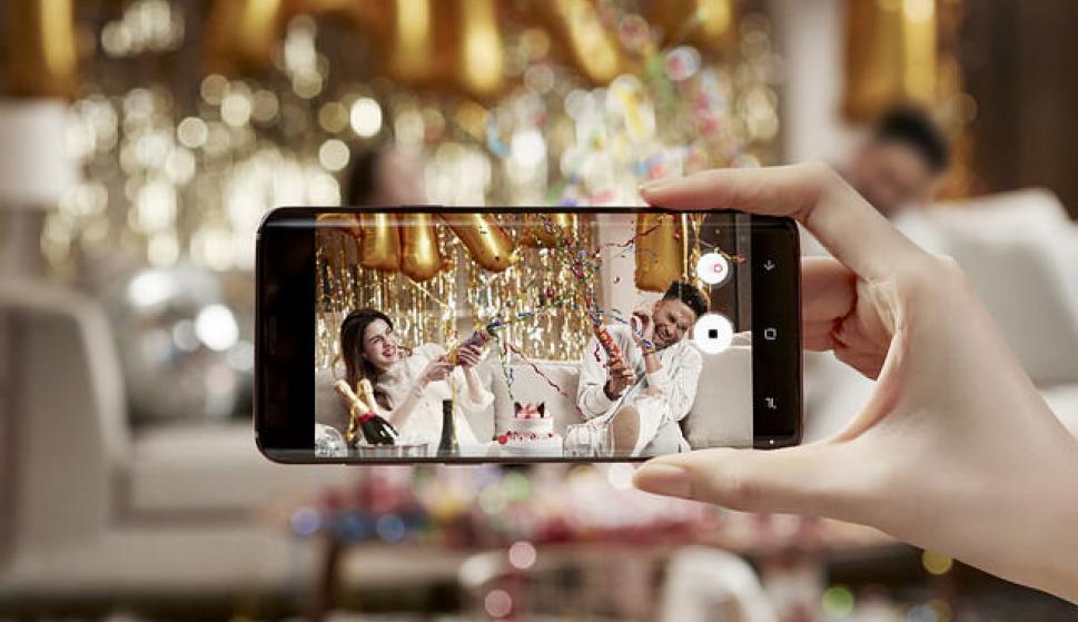 La nueva cámara slow-motion captura 960 fotogramas por segundo. Foto: Samsung