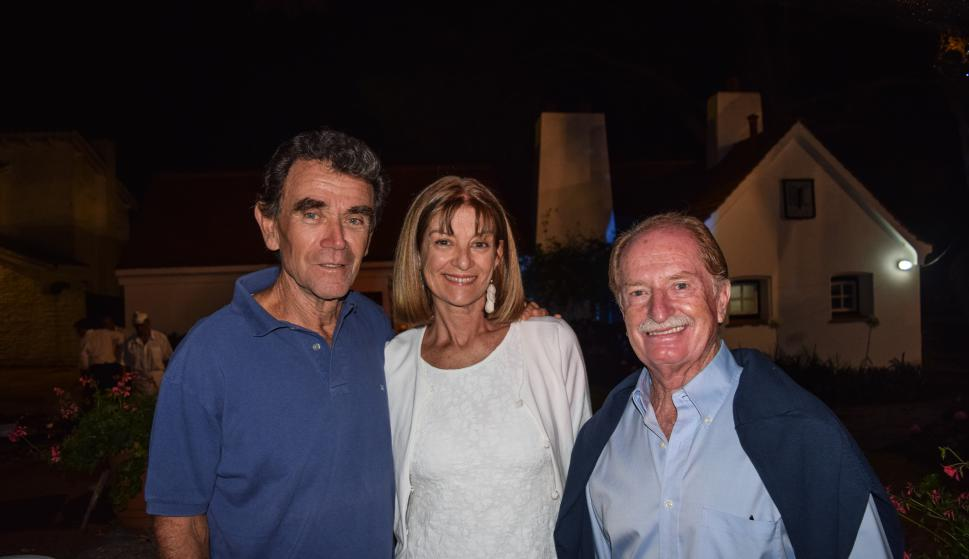 Fabián Barriola, María Celia Carrasco, Juan Carlos Mascheroni.