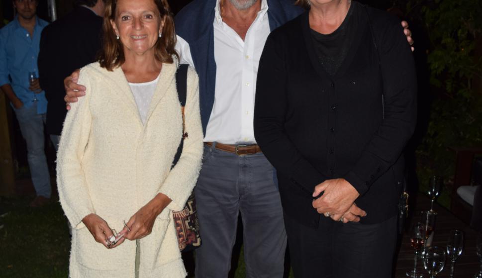 Mariela Mocera, Italo Monetti, Hidi Denes.
