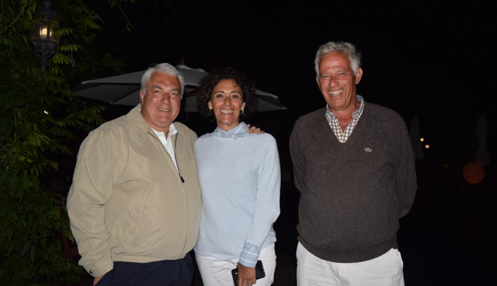 Jorge Mocera, Graciela De Vida, Andrés Denes.