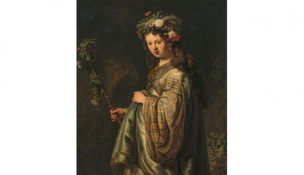 Flora, Rembrandt van Rijn, 1634  © State Hermitage Museum, St. Petersburg
