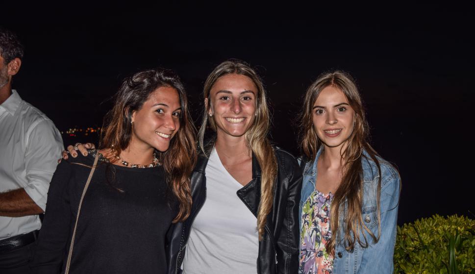 Camila Hernández, Nadia Mehdi, Camila Luna.