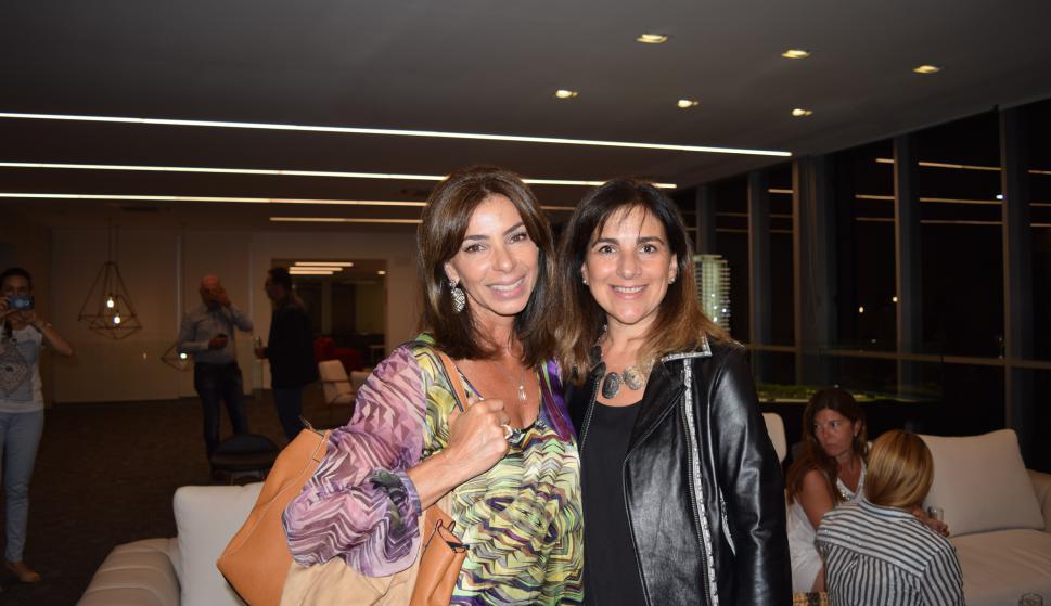 Andrea Penelas, Mariela Laiocono.