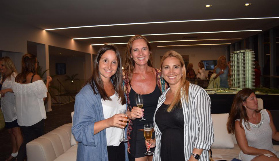 Noel Maillo, Judith Promanzio, Andrea González.