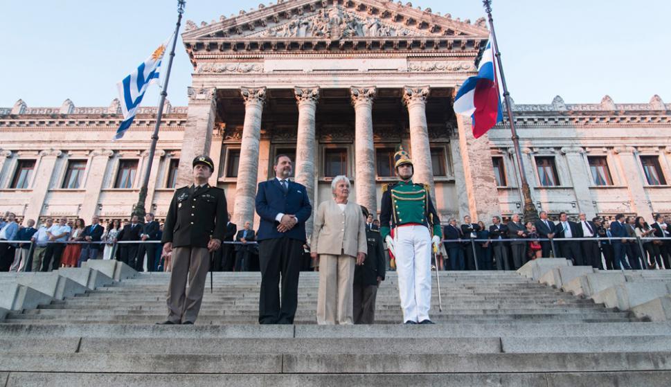 Asumió Jorge Gandini la presidencia de la Cámara de Representantes y luego quedó abierto el cuarto período de la 48a. Legislatura. Foto: Cámara de Representantes