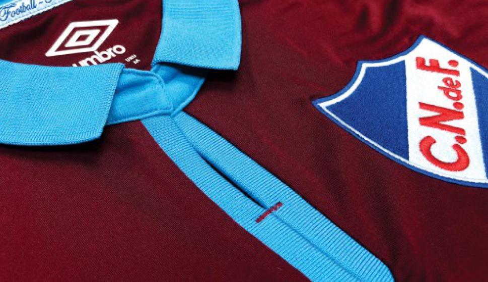 Nacional de Uruguay presentó su camiseta Umbro en homenaje a Abdón Porte