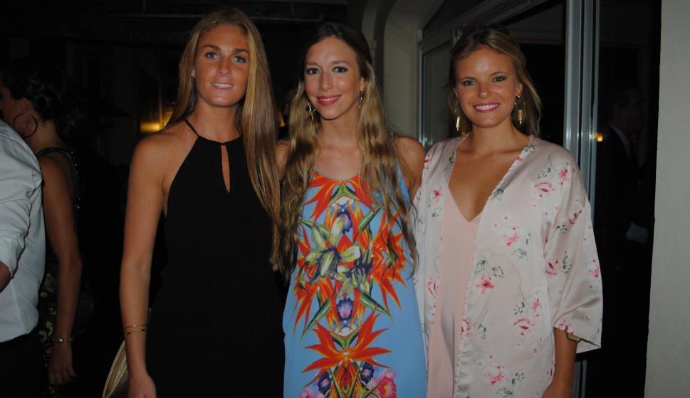 Mercedes Coates, Inés Zerbino, Alejandra Bosch.