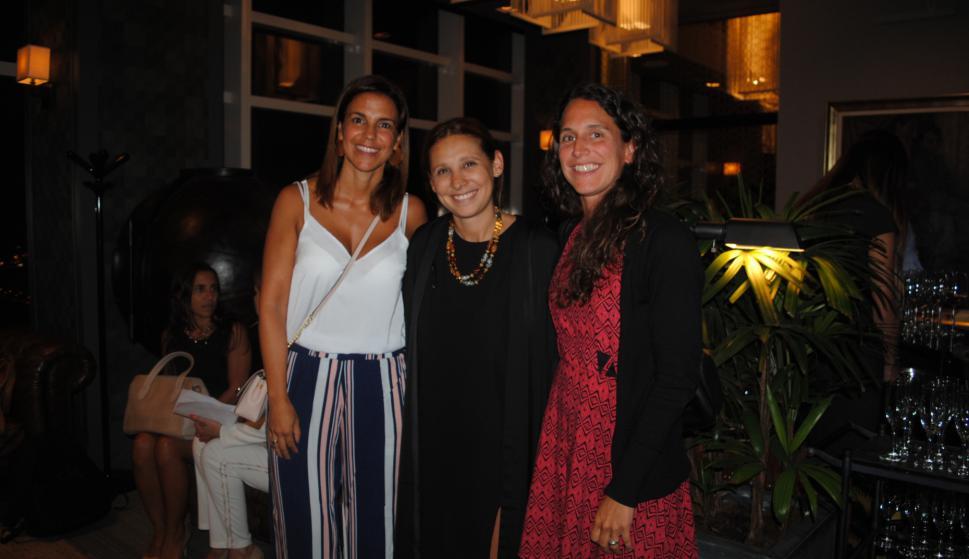 Daniela Alonso, Carolina de León, Mariana Mondino.
