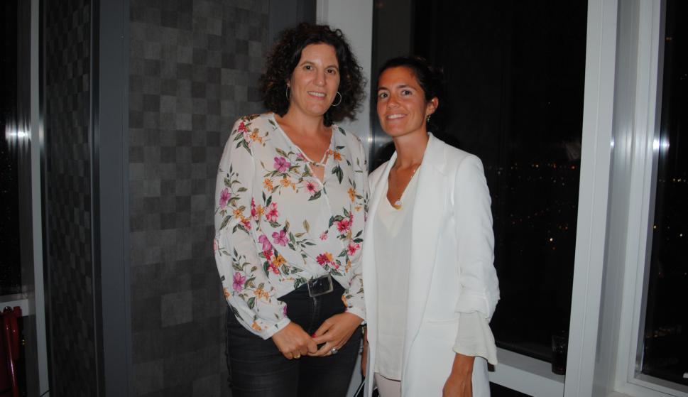 Raquel Oberlander, Florencia Lecueder.