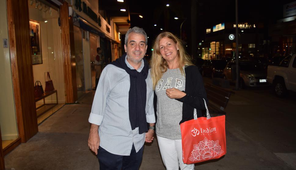 Claudio Alvarez, Lorena Vallejo.