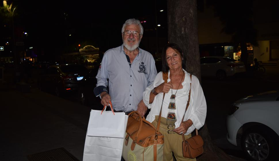 Sebastián Ambrogio, Silvia López.