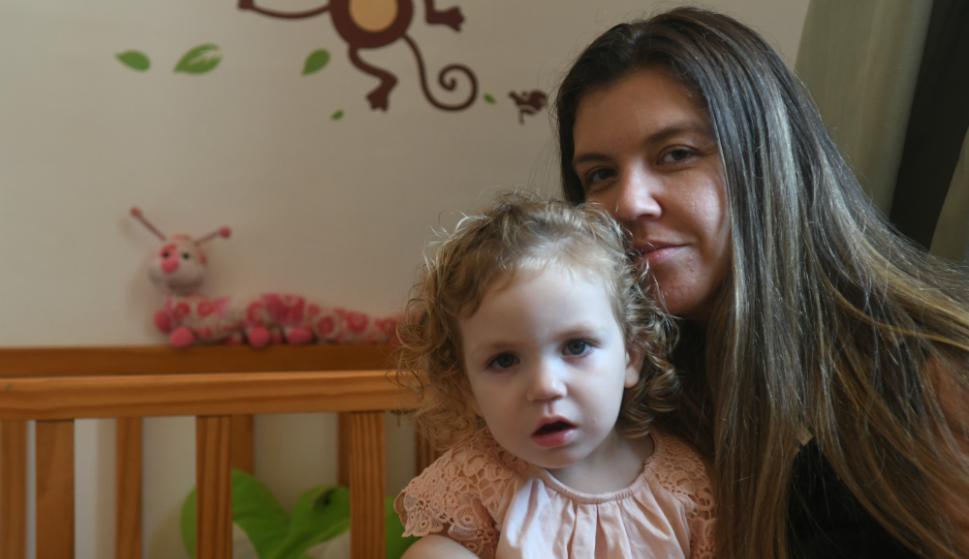 Ivanna Cestau y su hija Morena