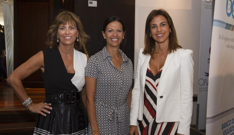 Silvina Rocha, Carla Arellano, Daniela Alonso.
