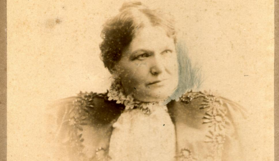 Josefina Janicki, esposa de Ángel Luisi. Foto: Familia Luisi
