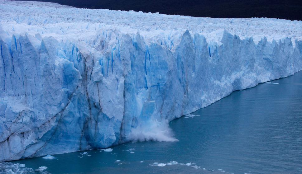 Glaciar Perito Moreno. Foto: AFP