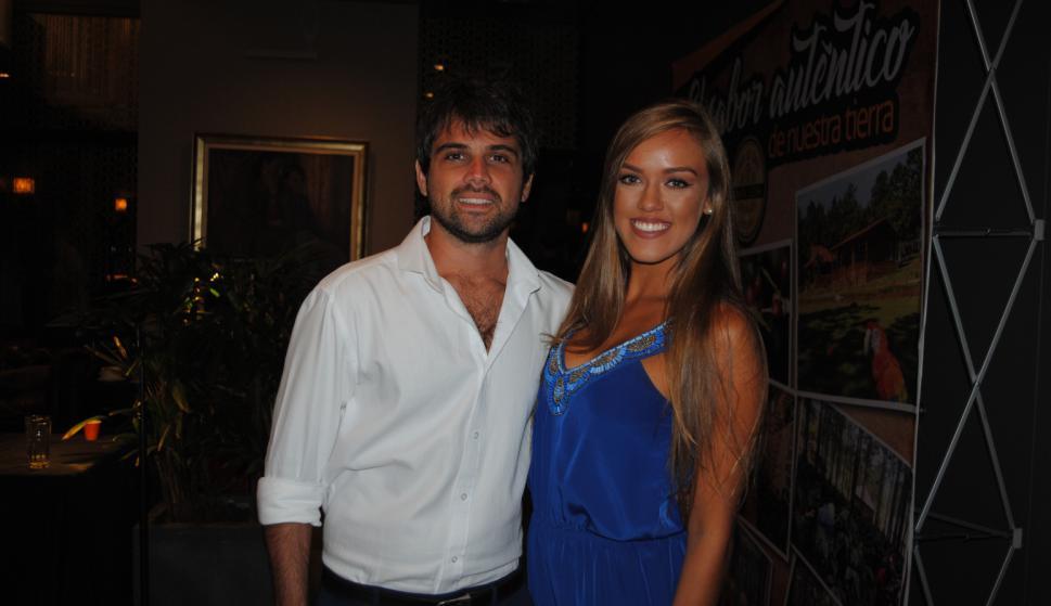 Diego Rivero, Marcia Ramírez.