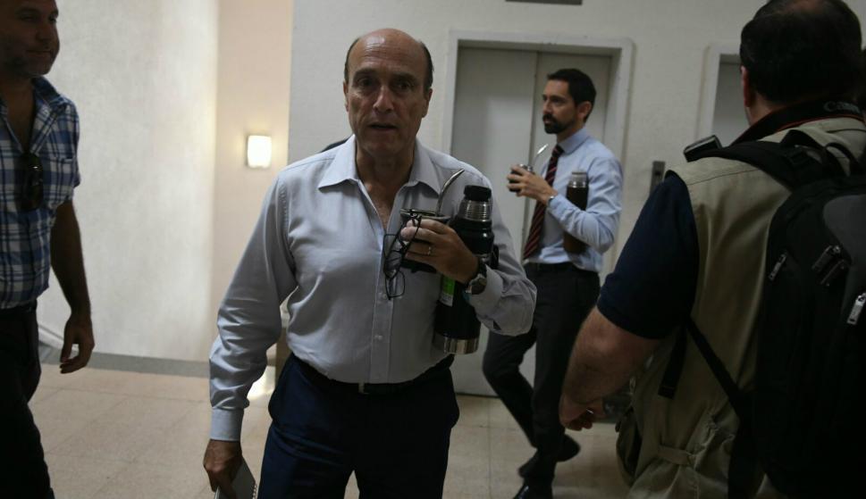 Daniel Martínez, intendente de Montevideo, en el Congreso de Intendentes. Foto: Ariel Colmegna.