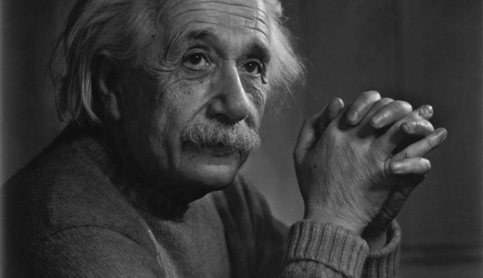 Albert Einstein. Foto: Archivo El País