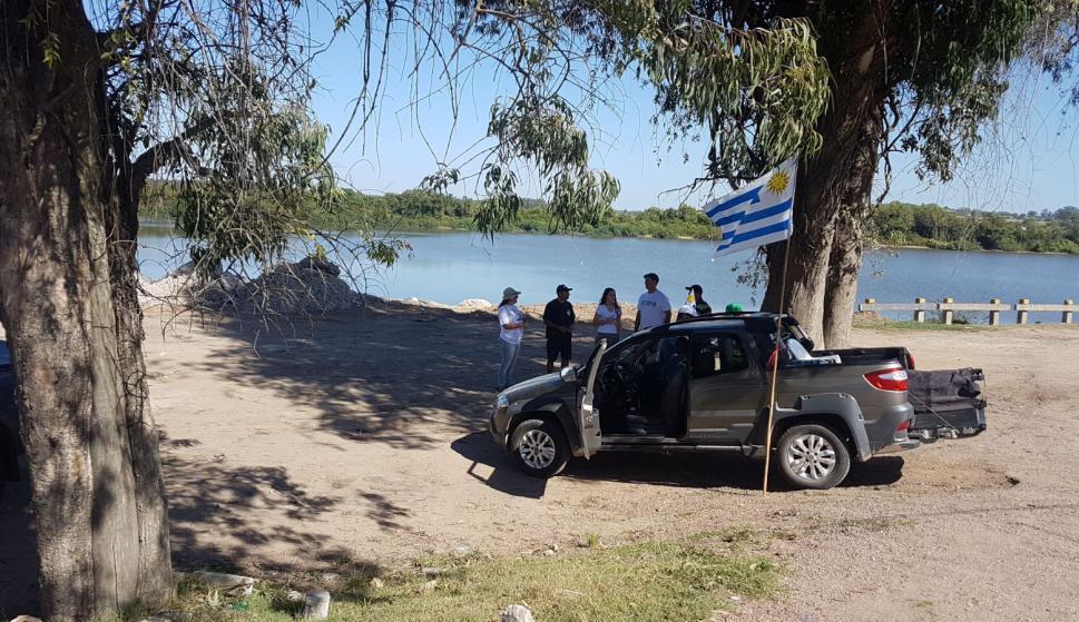 Autoconvocados en Cerro Largo. Foto: Néstor Araújo
